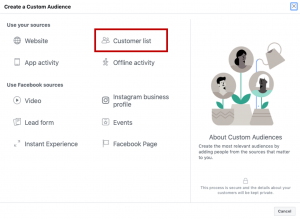 Bases de Datos Facebook Business Manager