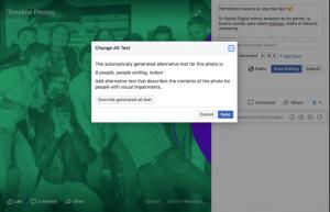 Texto Alternativo en Facebook 2