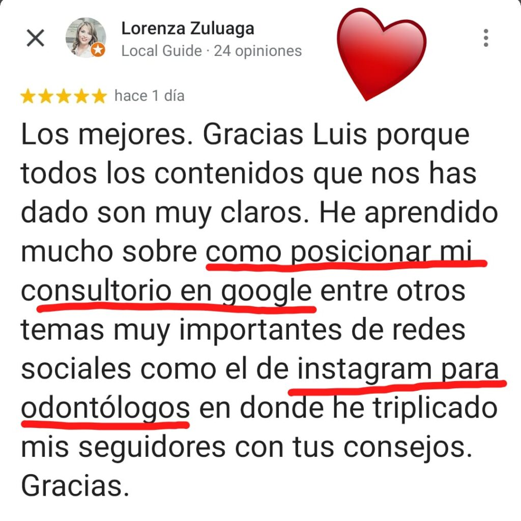 Testimonial Lorenza Zuluaga (1)
